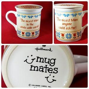 Mothers Day Hallmark Sampler Mug With Coaster 8 oz